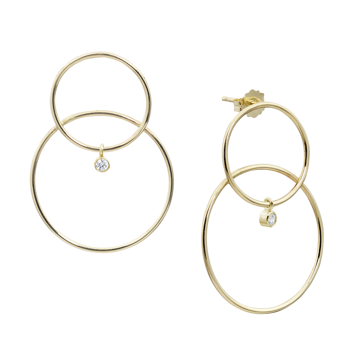 SCARPA DIAMOND EARRINGS