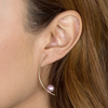 TREVISO EARRINGS, PINK PEARL