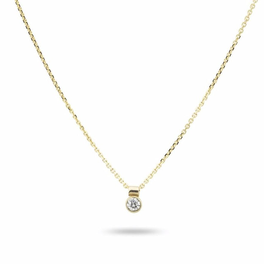 DIAMOND SOLO NECKLACE