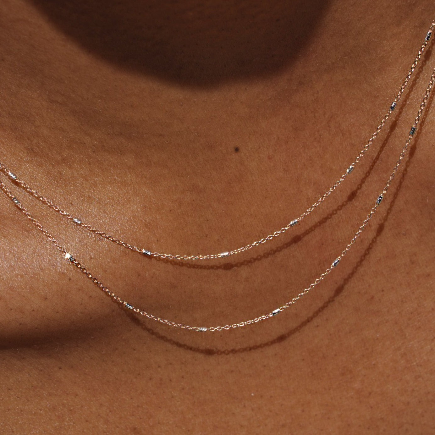 ROSE GOLD SPARKLE CHAIN