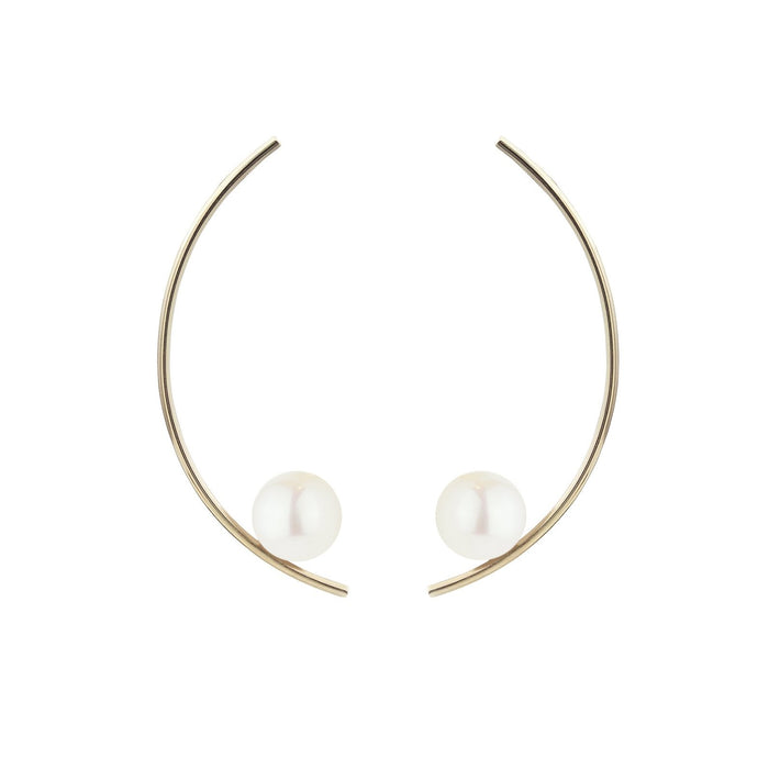 Treviso Earrings, White