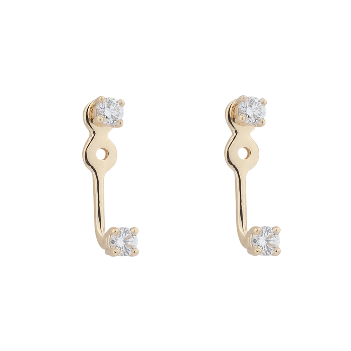 DIAMOND FLOATER EARRINGS