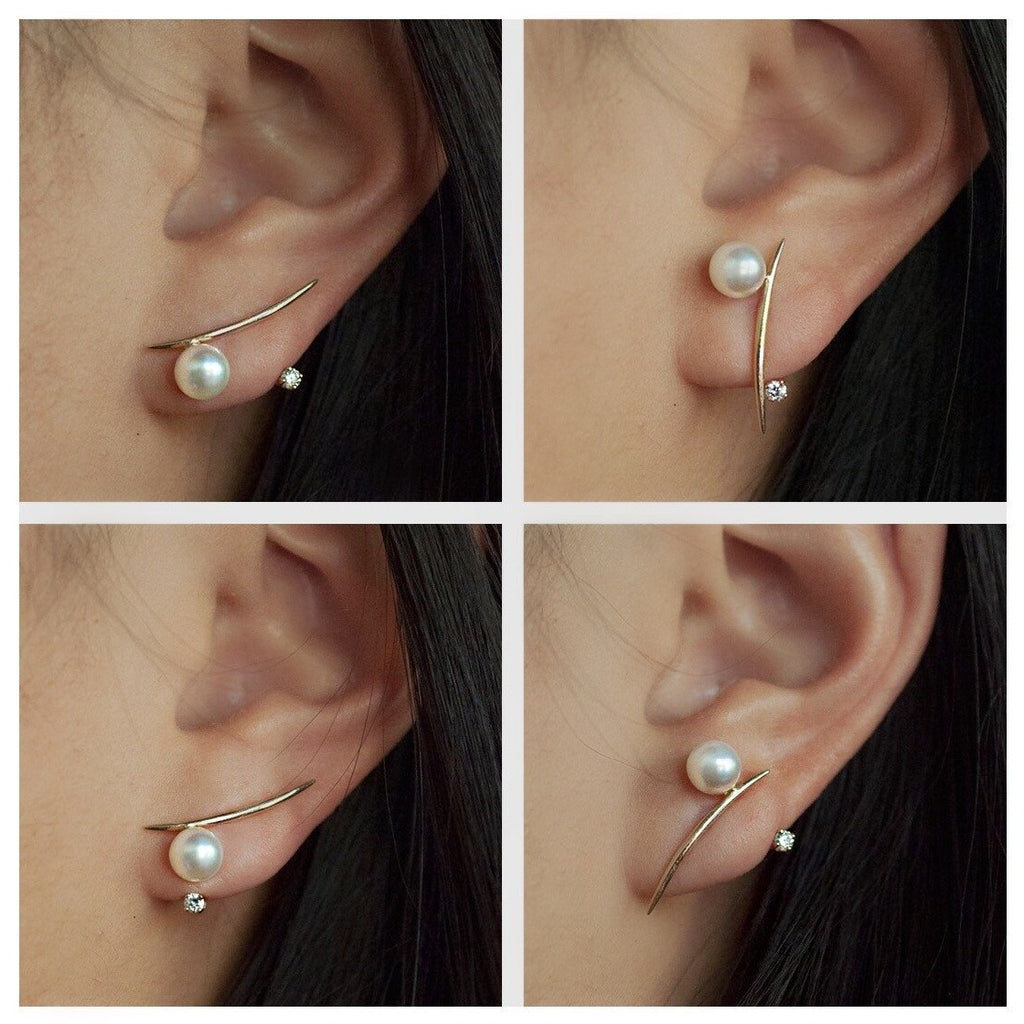 Diamond Floater Ear Jacket
