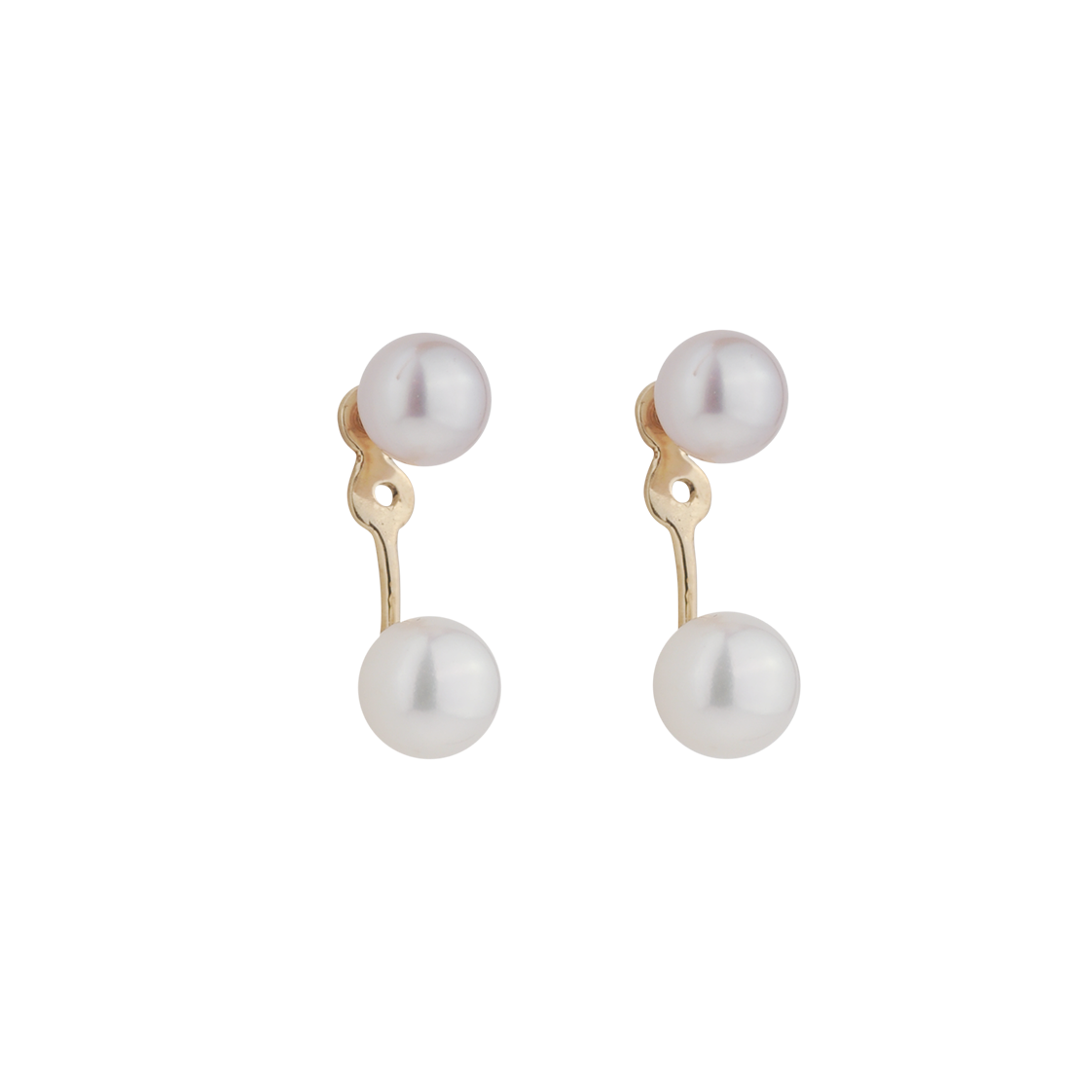 PEARL FLOATER EARRINGS