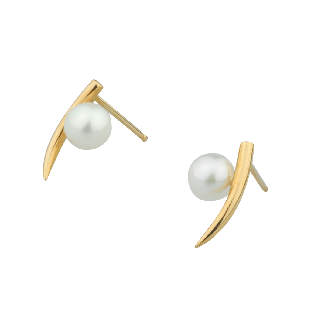 Image of Pearl Tusk Studs