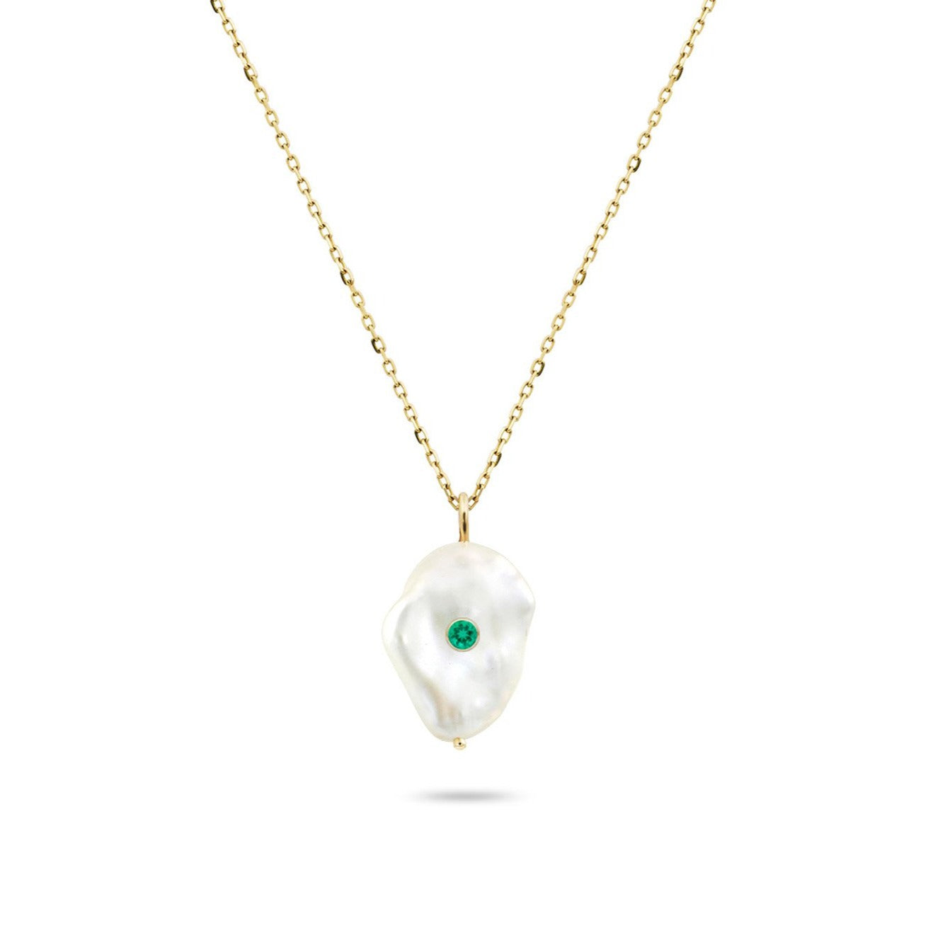 Kenna Birthstone Pearl Necklace