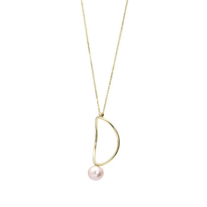 Pearl Continuity Necklace