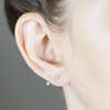 white/space jewelry diamond floater ear jacket earring gold