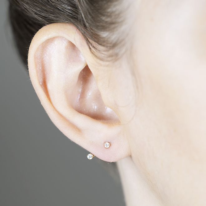 Diamond Floater Ear Jackets