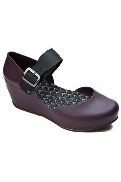 CRIS SHOES - acai/black