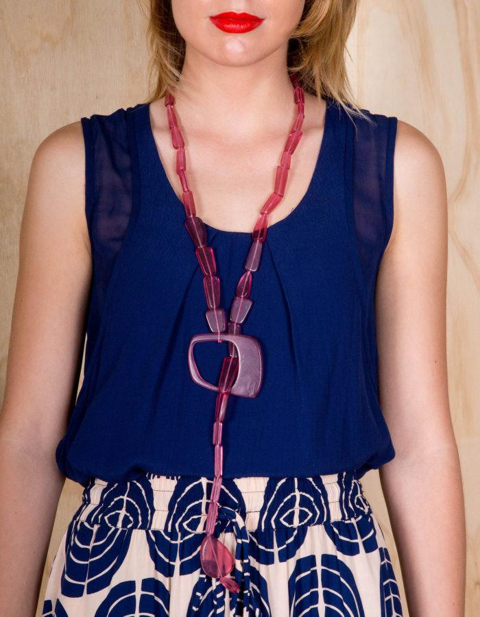 SOLROJO OJAL NECKLACE