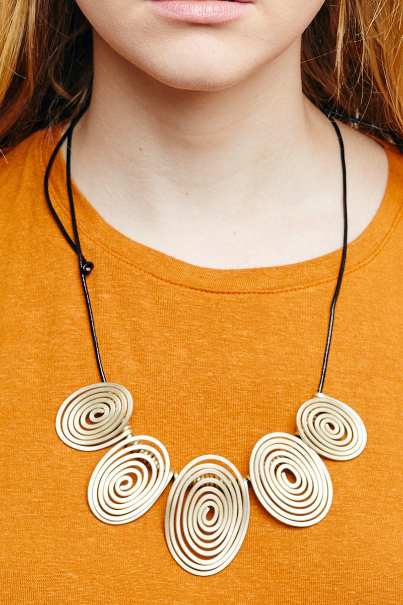 SPIRALS NECKLACE