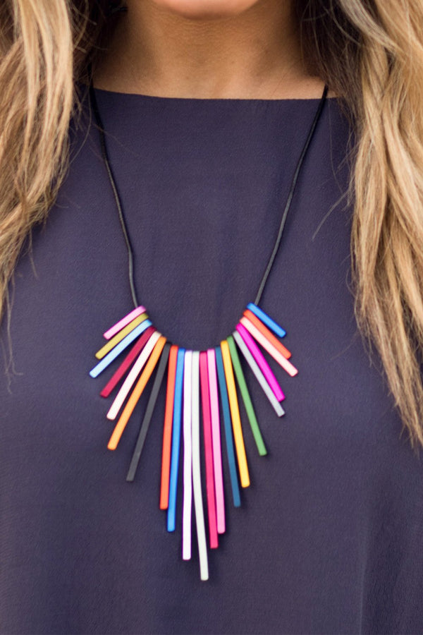 RAINBOW PRON NECKLACE
