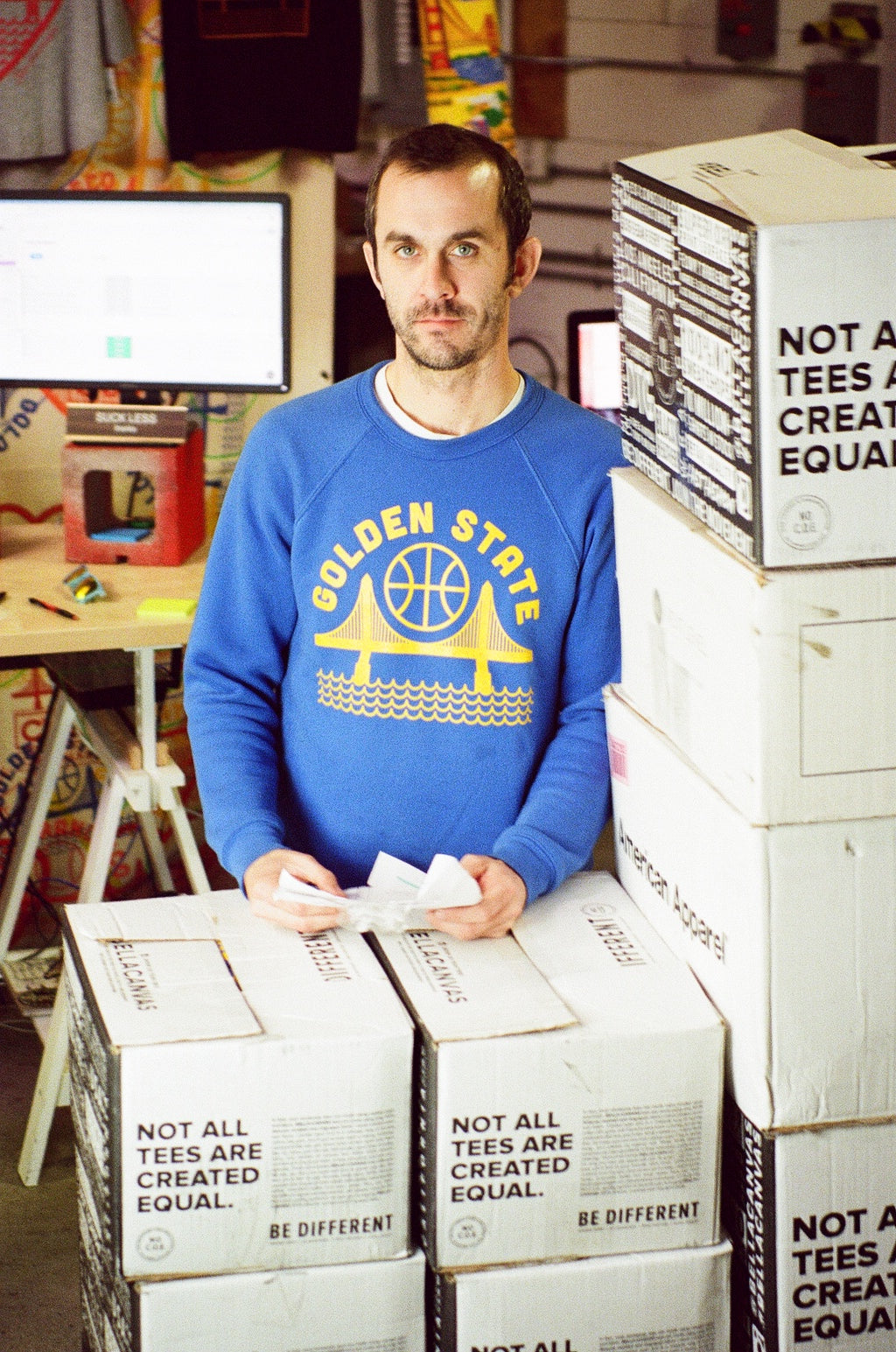 culk warehouse brian golden state sweatshirt