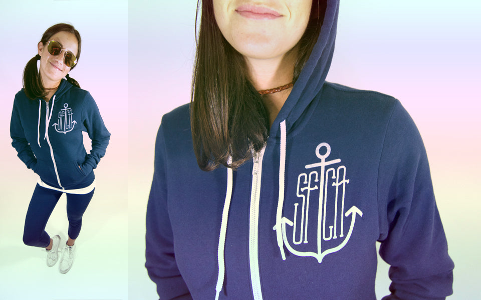 SFCA Anchor Zip Up Hoody Blog Culk