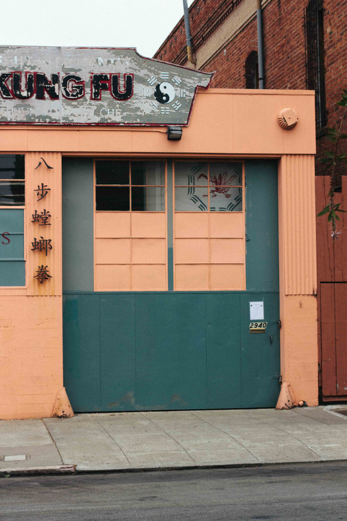 the outside of a kung fu school in san francisco