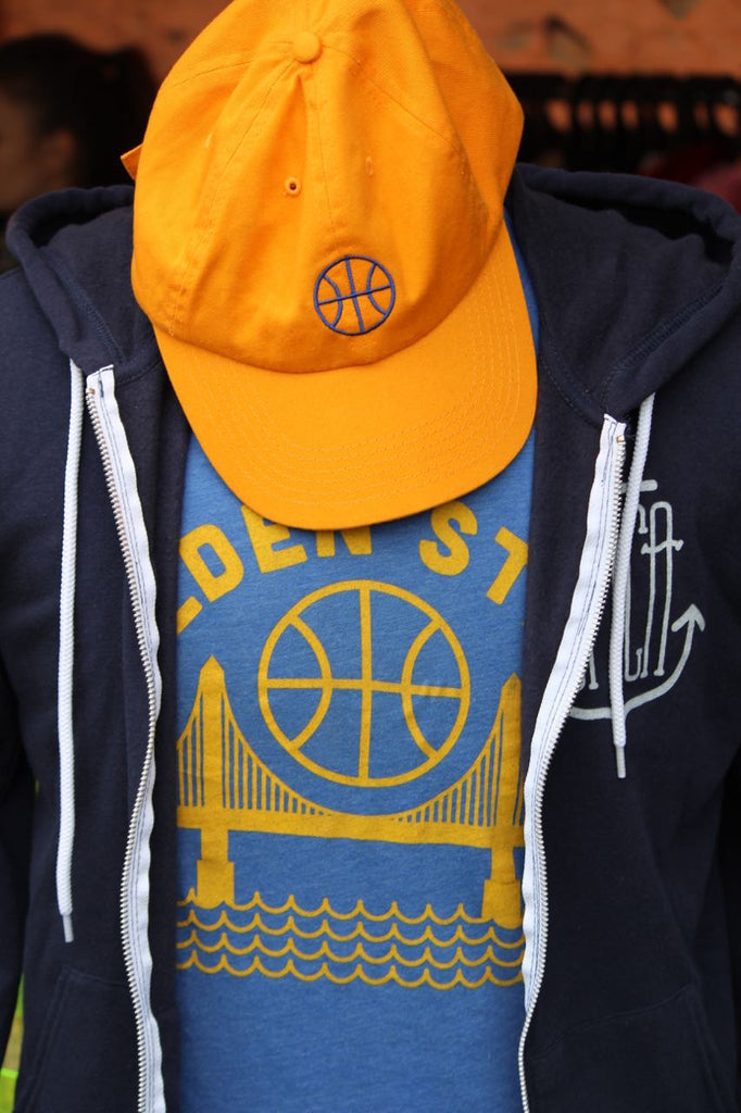 golden state mens tee golden state hat
