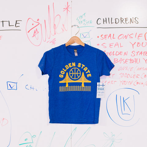 golden state youth tee shirt