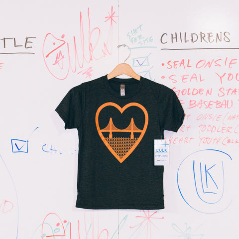 i heart sf youth tee