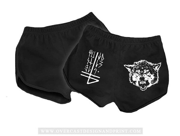 "The Banner ""The Wolf & Sigil"" Girl Shorts"