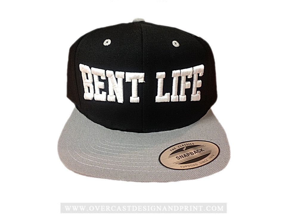 "Bent Life ""Grey"" Snap-Back Hat"