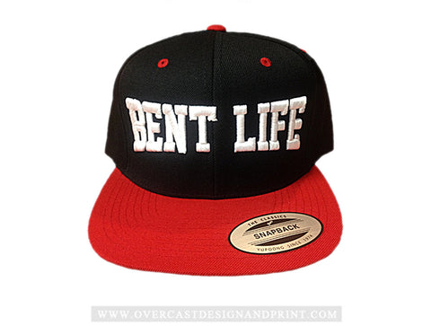 "Bent Life ""Red"" Snap-Back Hat"