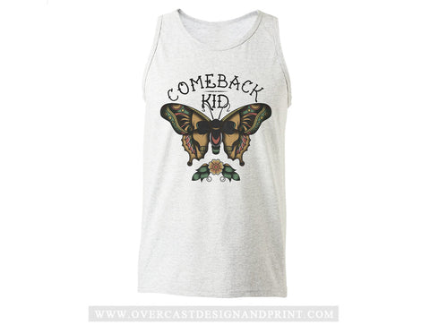 "Comeback Kid ""Butterfly"" Tank Top"