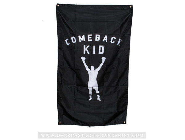 "Comeback Kid ""Boxer"" Flag"