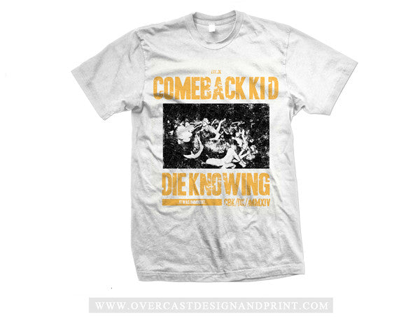 "Comeback Kid ""Imminent"" Tee"