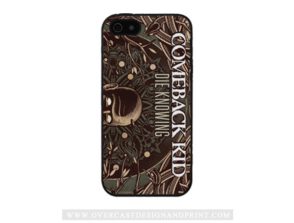 "Comeback Kid ""Die Knowing"" iPhone 5/5s Case"