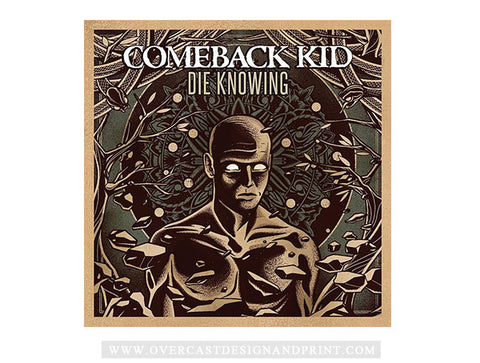 "Comeback Kid ""Die Knowing"" CD"