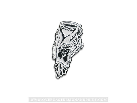 """Cold Heart"" Enamel Pin"