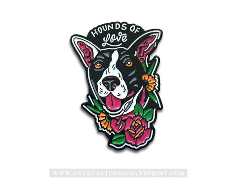 """Hounds of Love"" Enamel Pin"