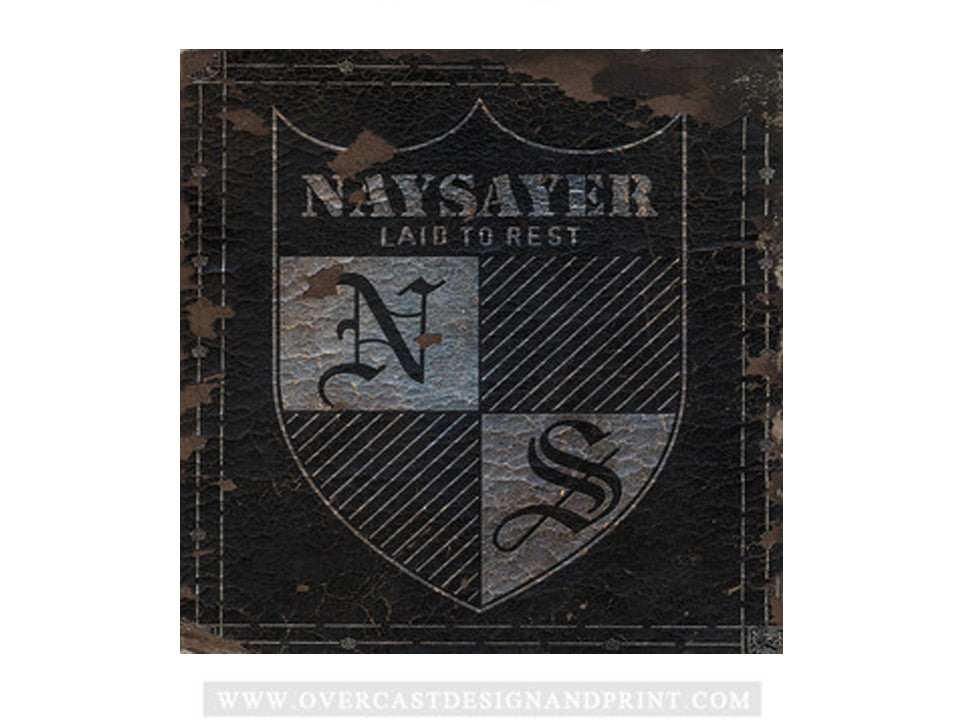 "Naysayer - ""Laid To Rest"" LP - Clear Vinyl"