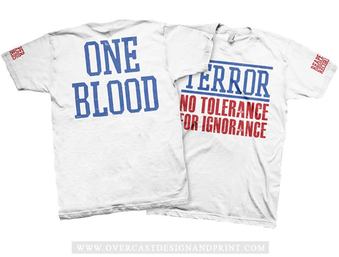 "Terror ""One Blood"" Tee"