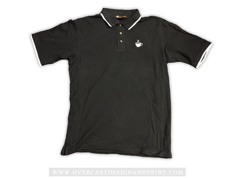 """Coffee Cup Logo"" Polo"