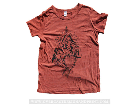 One Hundred for Haiti - Lady Voodoo Tee by Amanda Powell