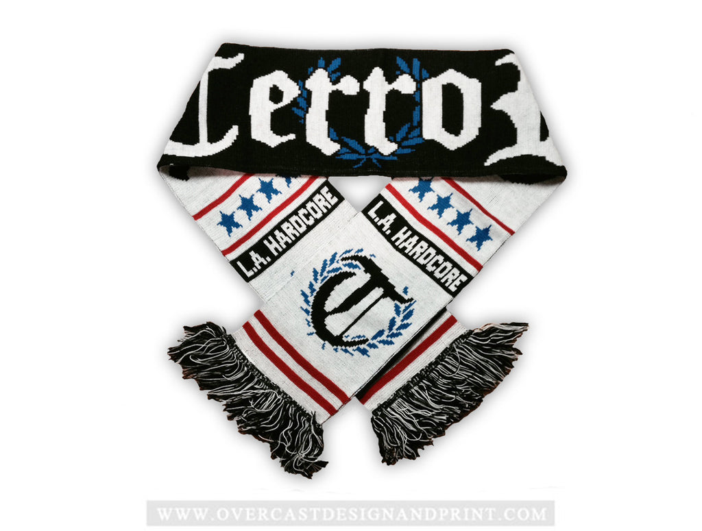 "Terror ""Red/Blue"" Scarf"