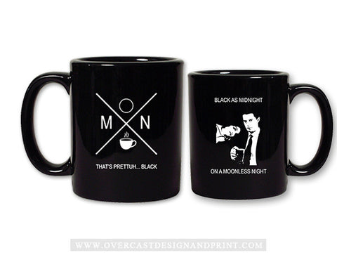 """Black as Midnight"" Coffee Mug"
