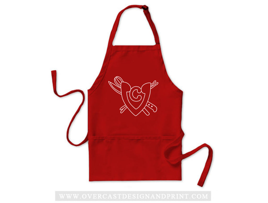 "Vegan Chops ""Red"" Apron"