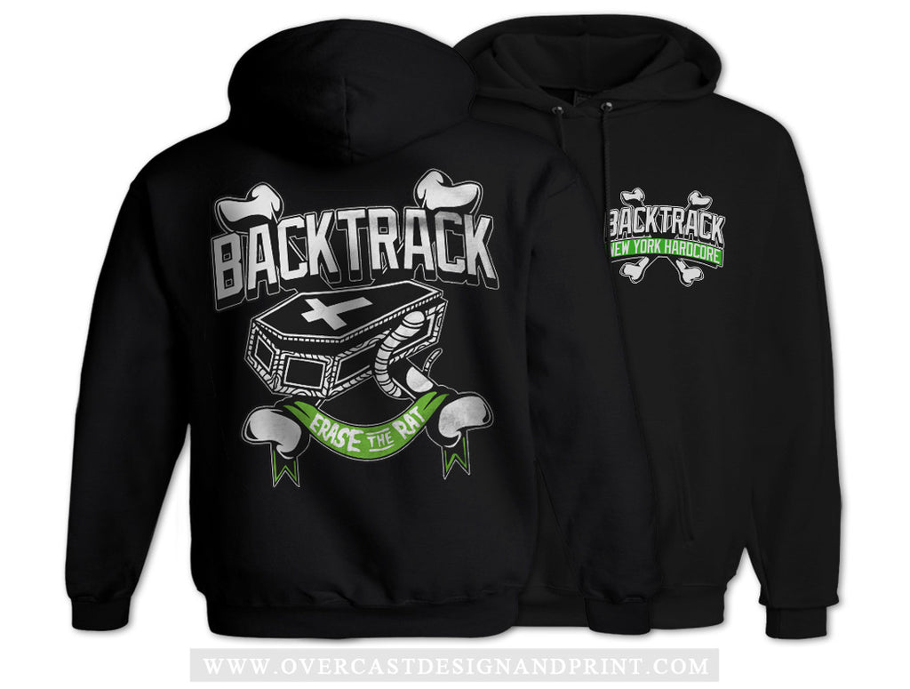 "Backtrack ""Erase The Rat"" Hoodie"