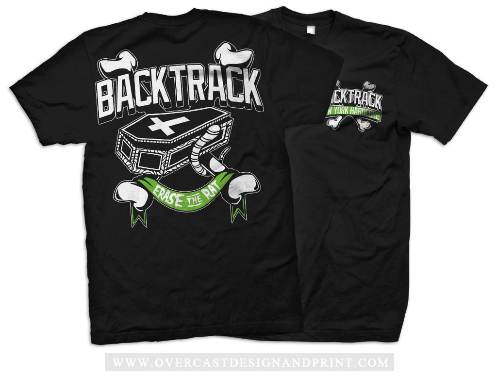 "Backtrack ""Erase The Rat"" Tee"