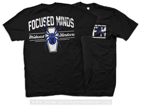 "Focused Minds ""Spider"" Tee"