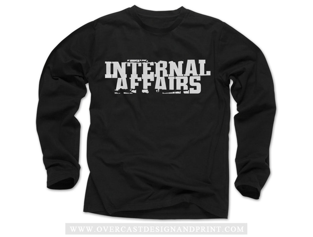 "Internal Affairs ""Logo"" Long Sleeve"