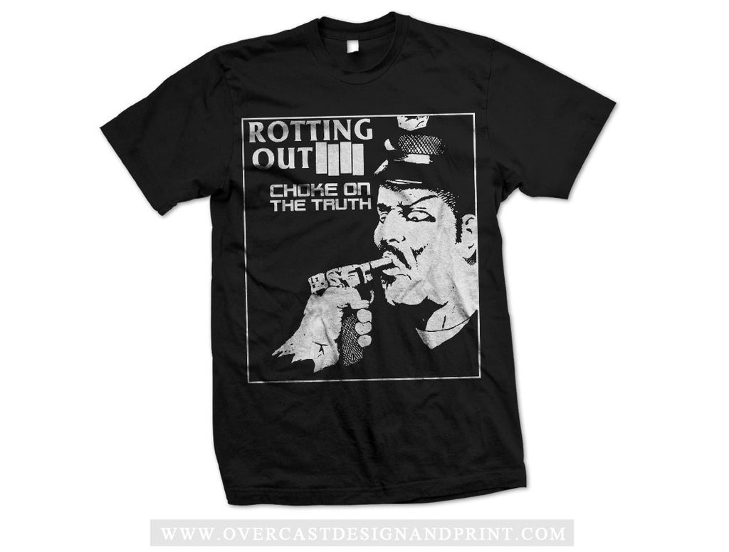 "Rotting Out ""Choke"" Tee Black"