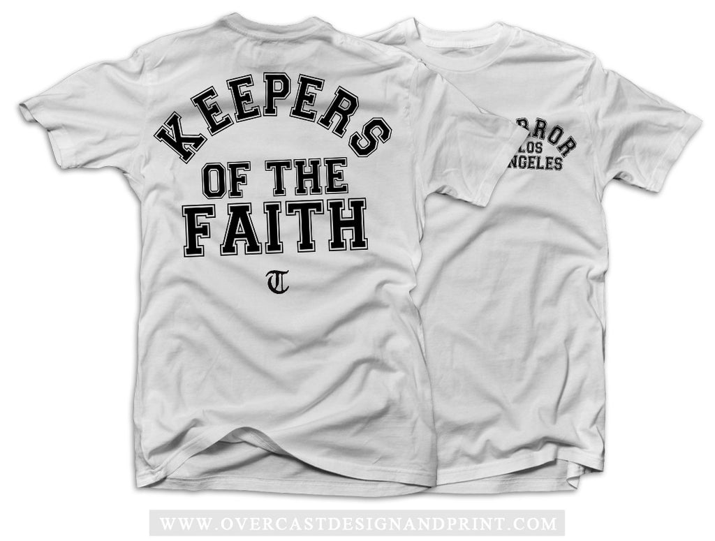 "Terror ""Keepers"" White T-Shirt"