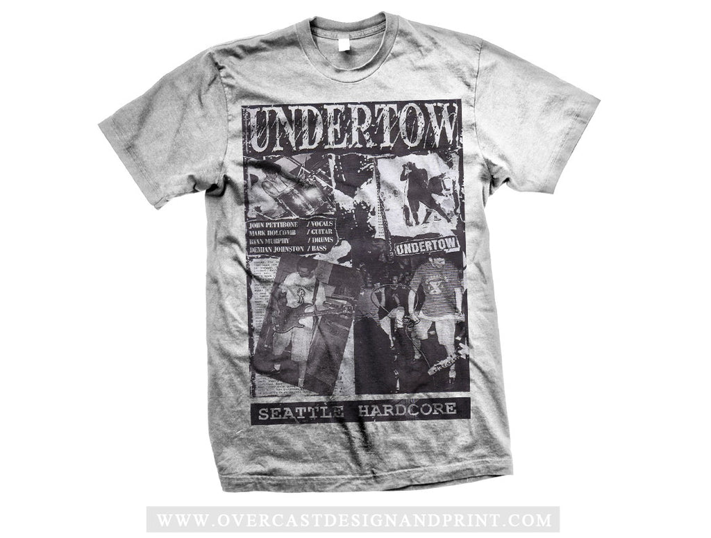 "Undertow ""Seattle Hardcore"" Tee"
