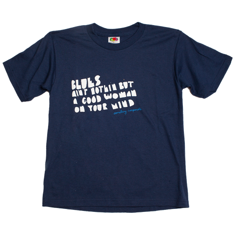Something Corporate Blues Tee (Youth Medium)