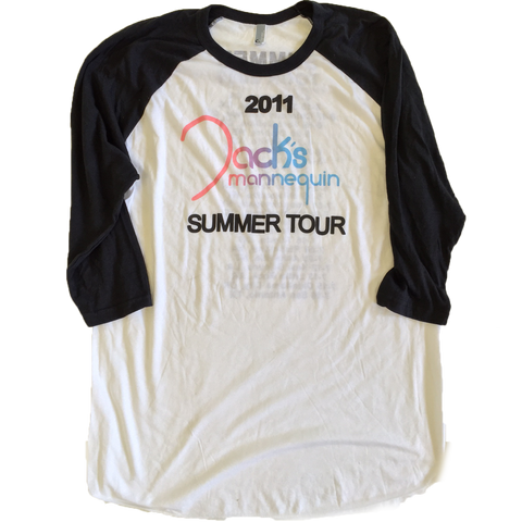 2011 Jack's Summer Tour Baseball Tee (XL & XXL Only)
