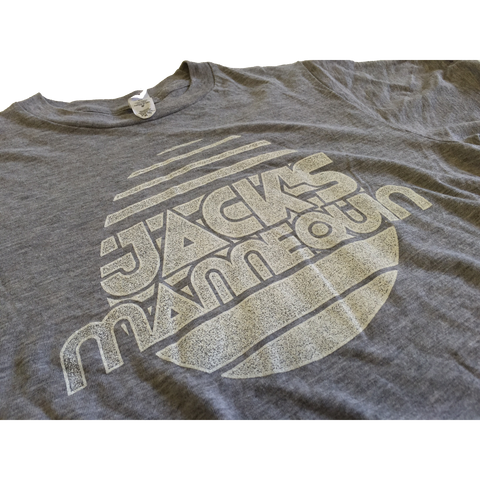 Grey Jack's Tee w/ White Logo (XS Only)